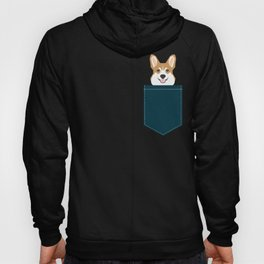 Teagan - Corgi Welsh Corgi gift phone case design for pet lovers and dog people Hoody