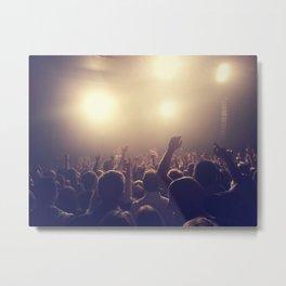 At the concert Metal Print