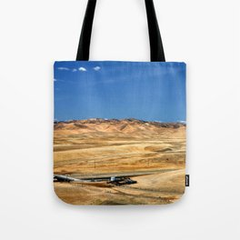 View from Aqueduct Vista Point Tote Bag