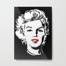 MarilynMonroe 1 Metal Print