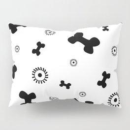 Pattern #5: Bones+Bacteria Pillow Sham
