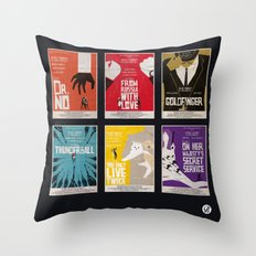 Bond #1 Throw Pillow