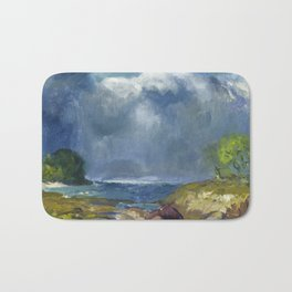 George Bellows - The Coming Storm, 1916 Bath Mat