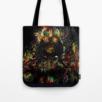 vader Tote Bags featuring Vader by ururuty