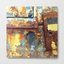 Colors of Rust / ROSTart Metal Print
