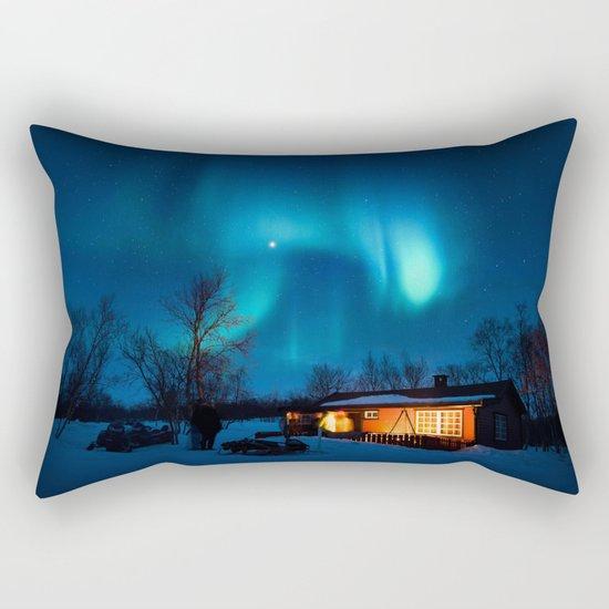 Aurora IV Rectangular Pillow