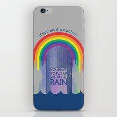 Rainbow Needs Rain iPhone & iPod Skin