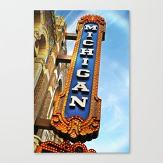 Michigan Theater, Ann Arbor Canvas Print
