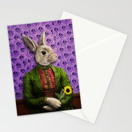 Miss Bunny Lapin in Repose Stationery Cards