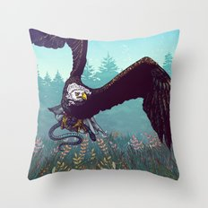 The Hunt Throw Pillow