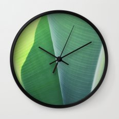 Plantain #1 Wall Clock