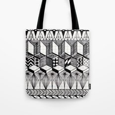 Over the Line Tote Bag