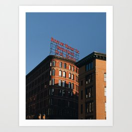 Boston Warf Art Print