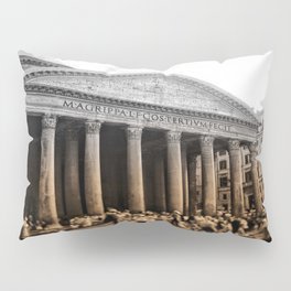 Agrippa built the Pantheon Pillow Sham
