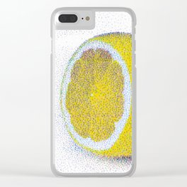 lemon - one Clear iPhone Case