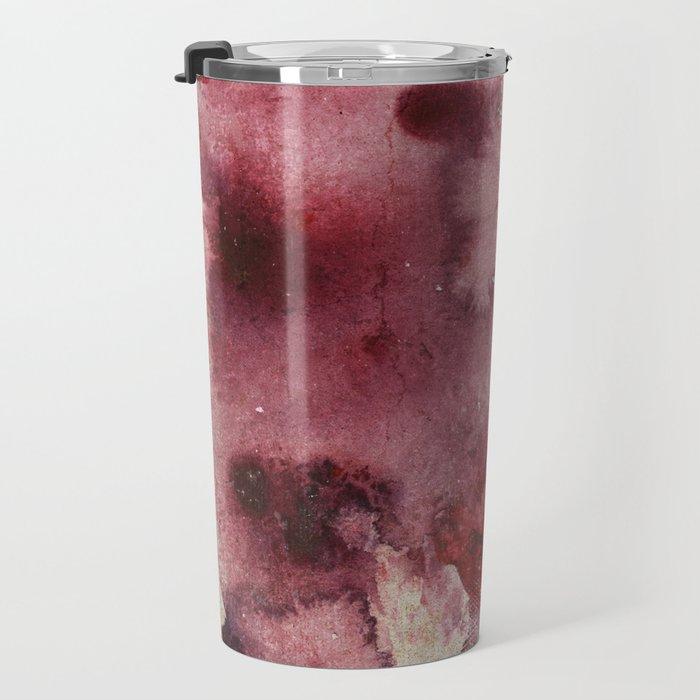 Garnet Color Splash Travel Mug