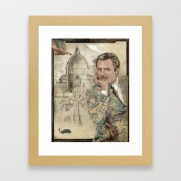 Marcello and Sophia Framed Art Print