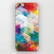 Cuben Curved #3 Geometric Art Print. iPhone & iPod Skin