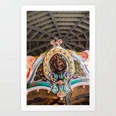 Lord of the carousel Art Print