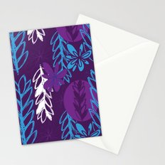 Patterned Purple Stationery Cards