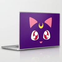 luna Laptop & iPad Skins featuring Luna by discojellyfish