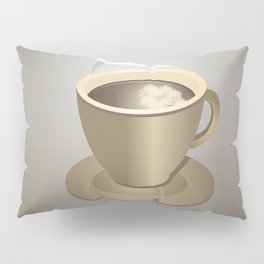Coffee cup Pillow Sham