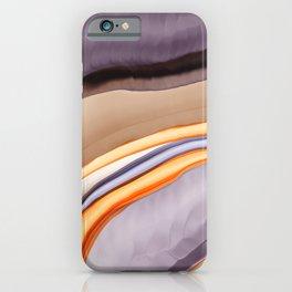 Between Rainbows 'n Minerals iPhone Case