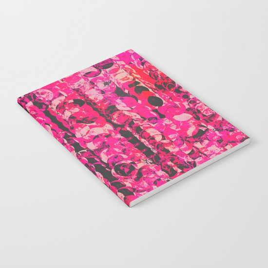 Pink & Red Notebook