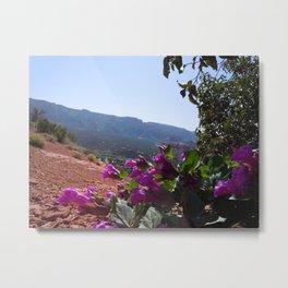 Vortex Blossoms Metal Print