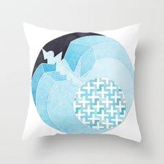 Apple Sleeping Throw Pillow