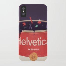 Helveti-soup iPhone Case