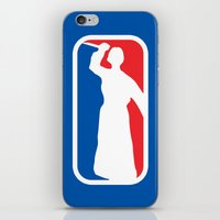 league iPhone & iPod Skins featuring Psycho League by dutyfreak