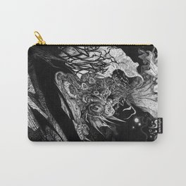 Flowering - Untitled Face III Carry-All Pouch