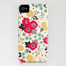Blumen Slim Case iPhone (4, 4s)