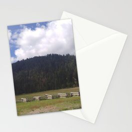 Lassen Mountains Stationery Cards