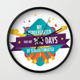My Kindergarten Kids Are 100 Days Of School Smarter Wall Clock