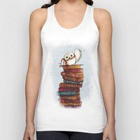 hedwig Tank Tops featuring Hedwig by Sam Skyler