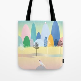 The House on the Hill Tote Bag