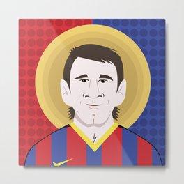 Messi Barcelona Metal Print