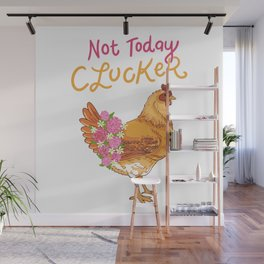 Funny Chicken Wall Mural