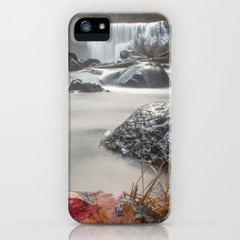 Fall at Middle Falls iPhone Case