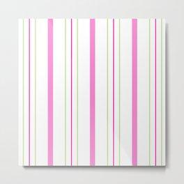 Simply Stripes Metal Print