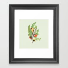 voël Framed Art Print