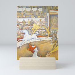 "Georges Seurat ""The Circus"" Mini Art Print"