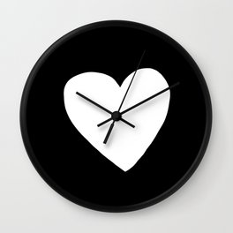 Big Heart Wall Clock