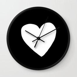 Big Heart Wall Clock