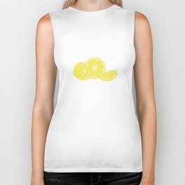 slice of lemon Biker Tank