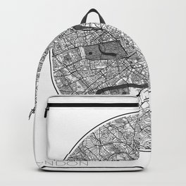 London Map Universe Backpack