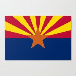 Arizona State Flag Canvas Print