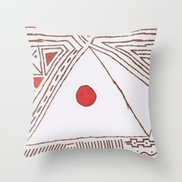 PowerLines 5 Throw Pillow